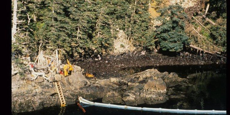 Exxon Valdez Oil Spill - 0850