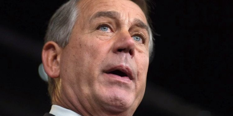 Boehner Proclaimed his total