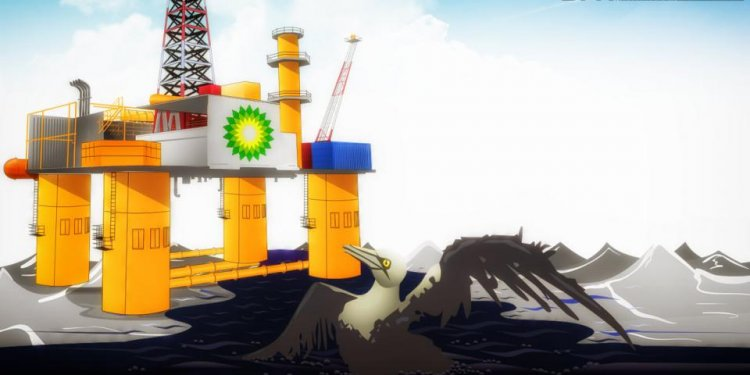 BP plc (ADR) Oil Spill Saga