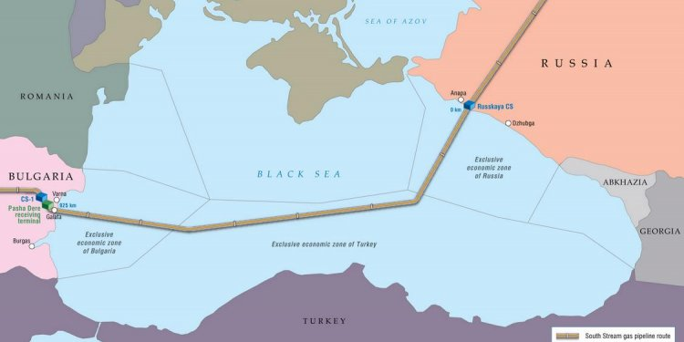 South Stream: Offshore Section
