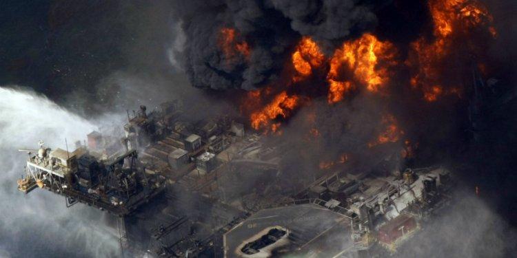 The Deepwater Horizon BP oil