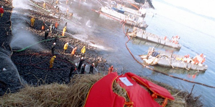 Exxon Valdez Oil Is Still