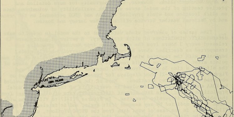 Image from page 67 of The Argo Merchant oil spill : a preliminary scientific report (1977