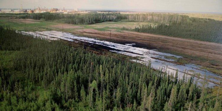 Massive Alberta oil spill