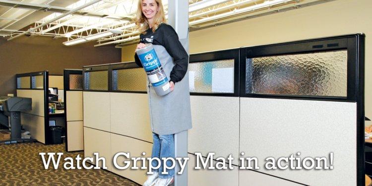 Non-Slip Absorbent Grippy Mat: