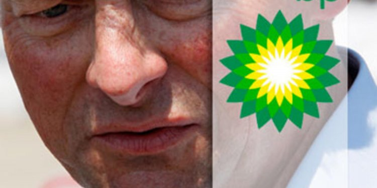 BP CEO during oil spill