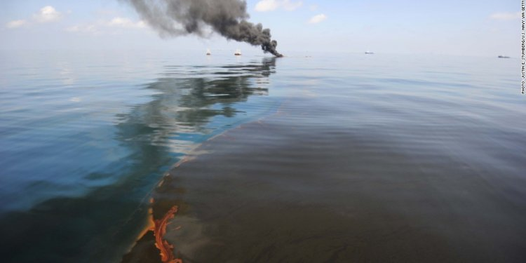 BP fines for oil spill