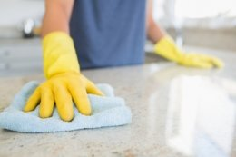 How to Clean Up Spills in the home at Work