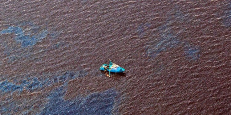 Oil spill in the Gulf