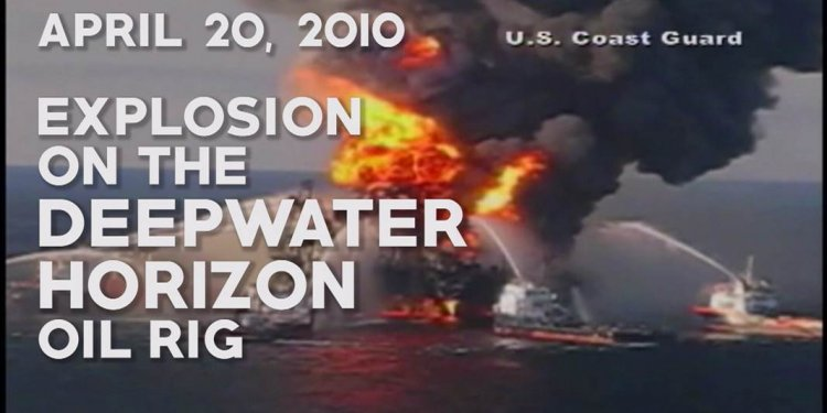 BP oil spill video