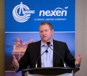 Nexen Bailey apologies for oil spill