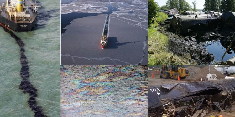 Most recent oil spills