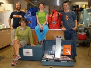 OSU SRP pre-deployment gear and scientists
