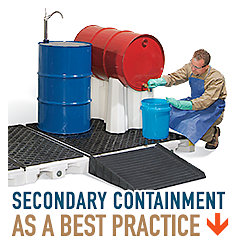 Secondary Containment - as a most useful practice