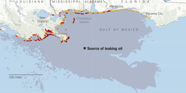 BP oil spill 2010 Timeline
