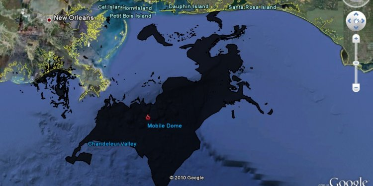Gulf of Mexico oil spill Locations